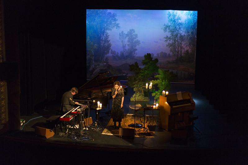 Nina Persson på Ystad teater med Maria!