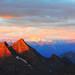 Amanecer en los Alpes, Itália by Margarita Calderó