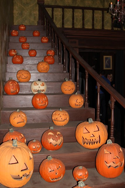 Stairs of Pumpkins