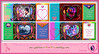 """My memories of my submissions for """"the 8th Breast Cancer Awareness Quilt"""" by vivsirena ( *On & Off* )"""