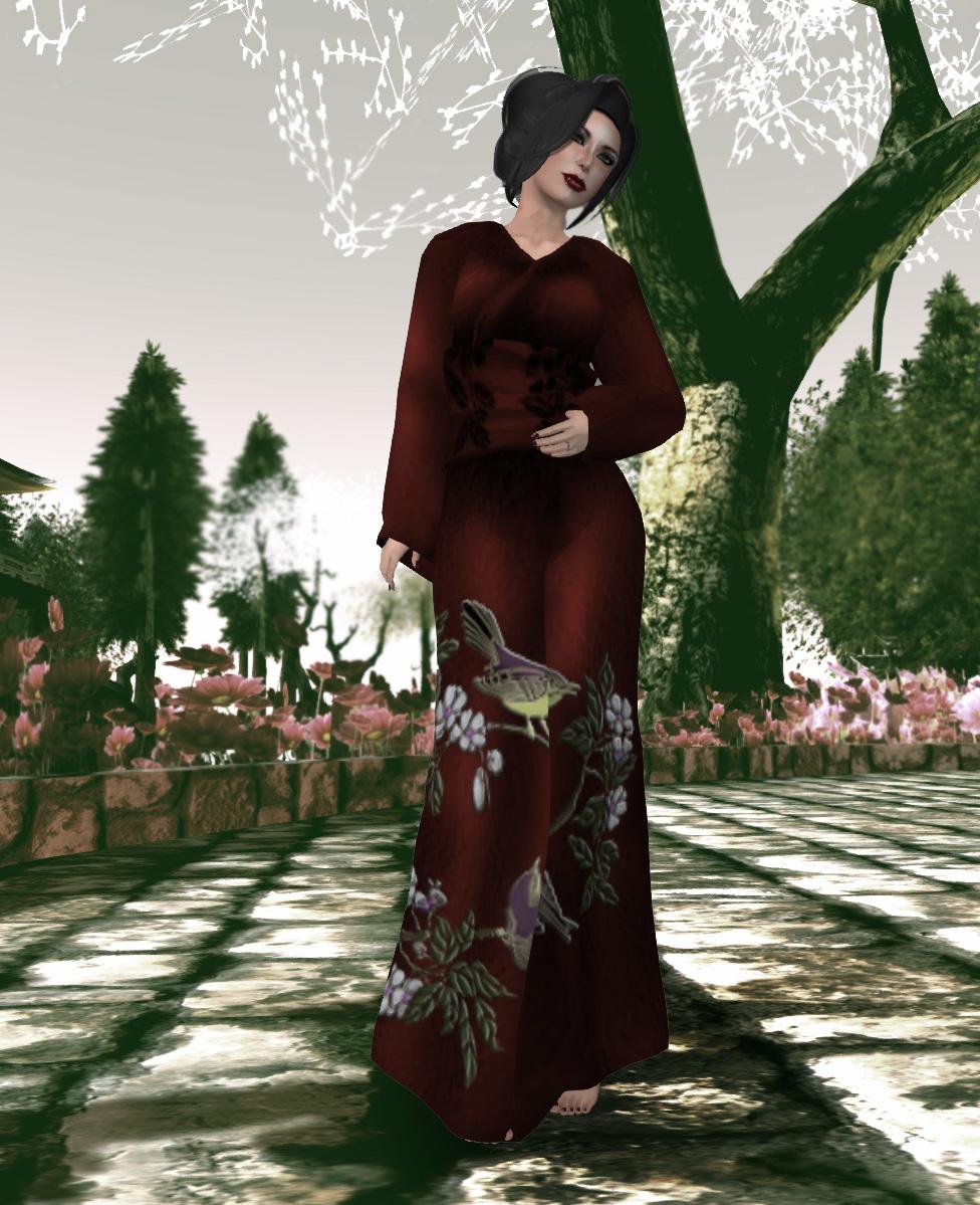 Avatar-Bizarre-Hibari-Kimono-Red