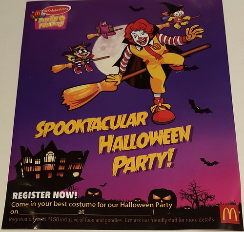 Spooktacular Halloween Party at McDonalds Bajada Davao City
