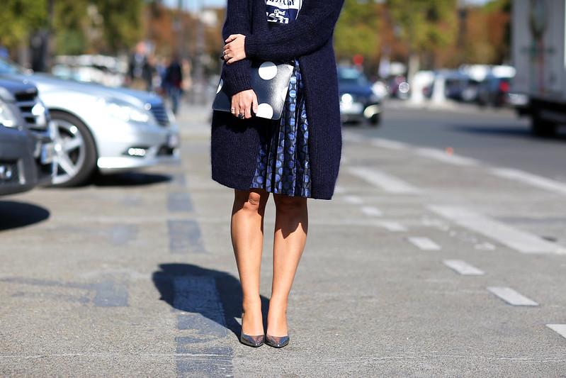 jupe-plissée-lamée