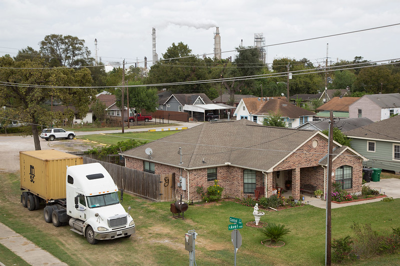 Residential Neighborhood, Valero Houston Refinery
