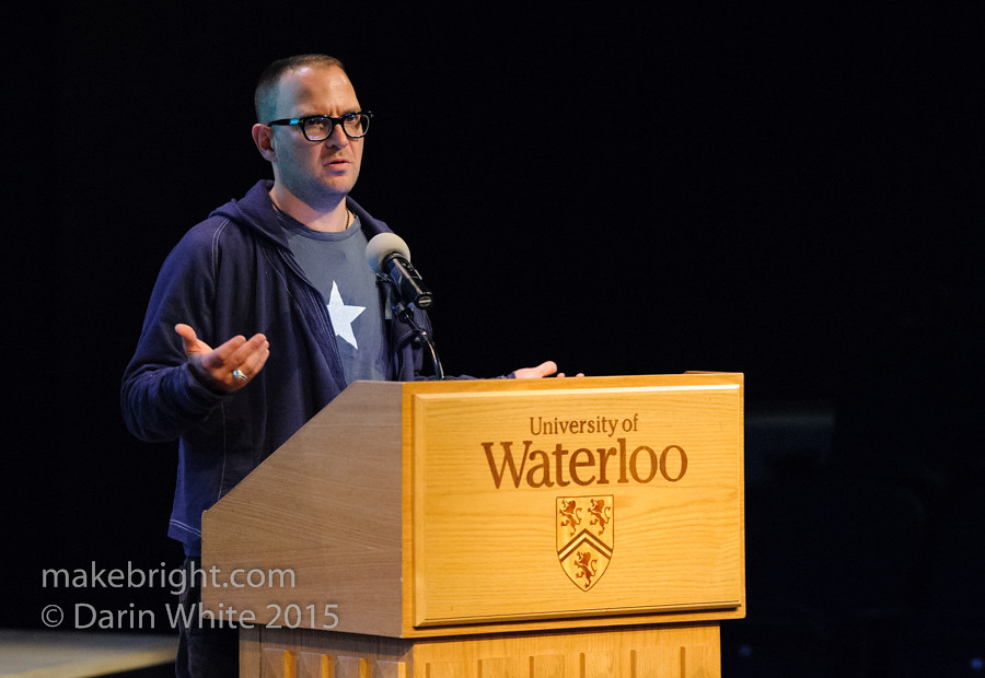 Cory Doctorow at UW - Oct 2015-100