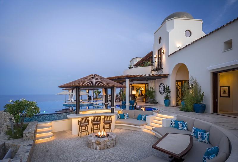 Мексиканская вилла Casa Fryzer