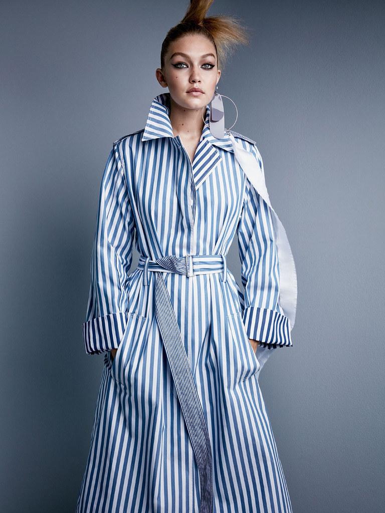 Джиджи Хадид — Фотосессия для «Vogue» 2015 – 3