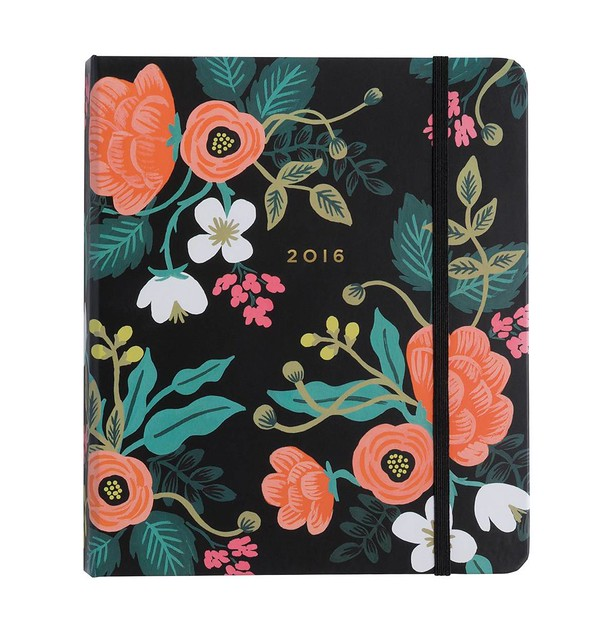 rifle paper co 2016 planner birch floral