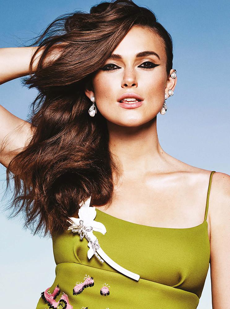 Кира Найтли — Фотосессия для «Elle» 2015 – 10