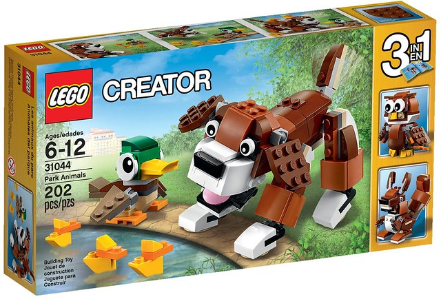 LEGO Creator 2016: 31044 - Park Animals