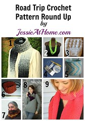 Road Trip ~ Crochet Pattern Round Up from Jessie At Home