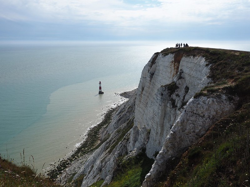 Coastal Margins: The 43 metre high Beachy Head Lighthouse and the 160 metre high Beachy Head