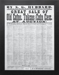 First Cincinnati Coin Auction