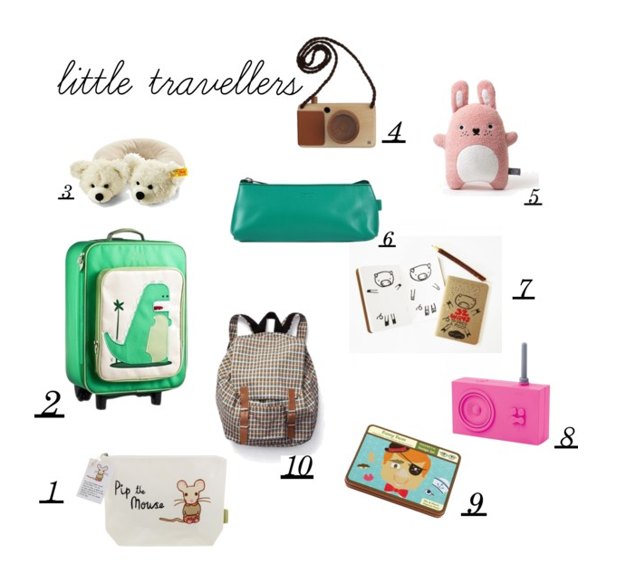 Gift guide 2015 - little travellers by Paul&Paula