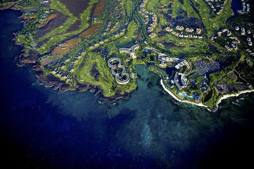 ocean nature landscape hawaii bay nikon pacific bluewater hilo wailua 2470mm heilcopter airelview wailuabay d810 airel nikond810 nikkor2470mm