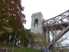 Gothic tower, Hell Gate Bridge