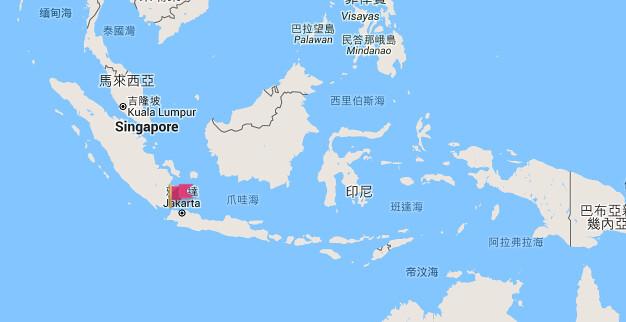 印尼制服地圖