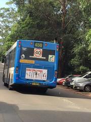 Sydney bus at Rhodes