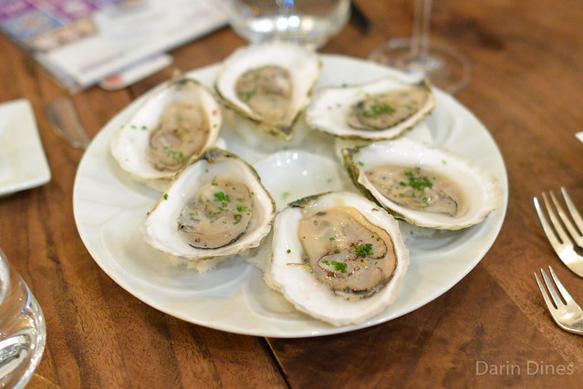 Wellfleet Oysters buddha's hand mignonette, grains of paradise