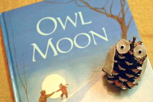 Owl Moon Ornament | Freshly Planted