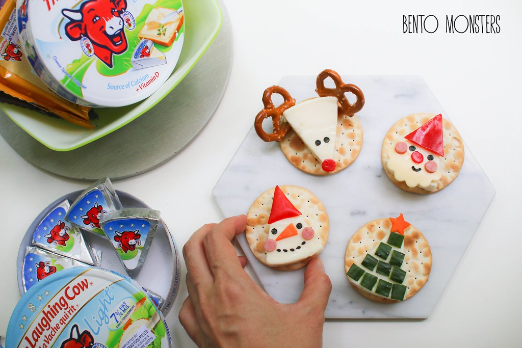 easy and cute Christmas food art ideas
