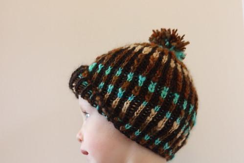 Preschooler Brioche Hat