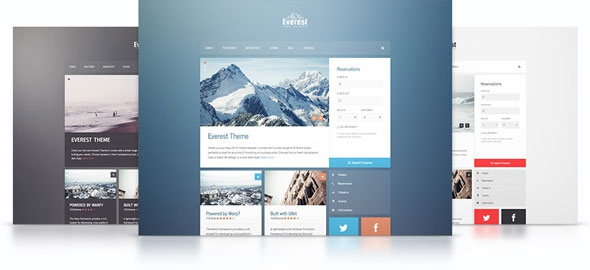 Yootheme Everest v1.0.4 - Wordpress Theme