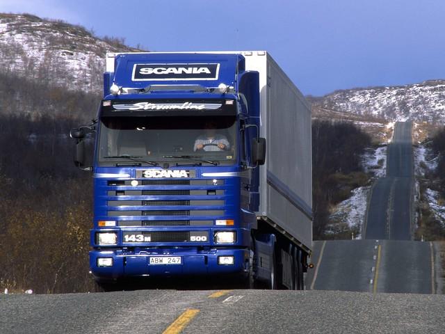 Седельный тягач Scania R143M 4x2. 1988 – 1995 годы
