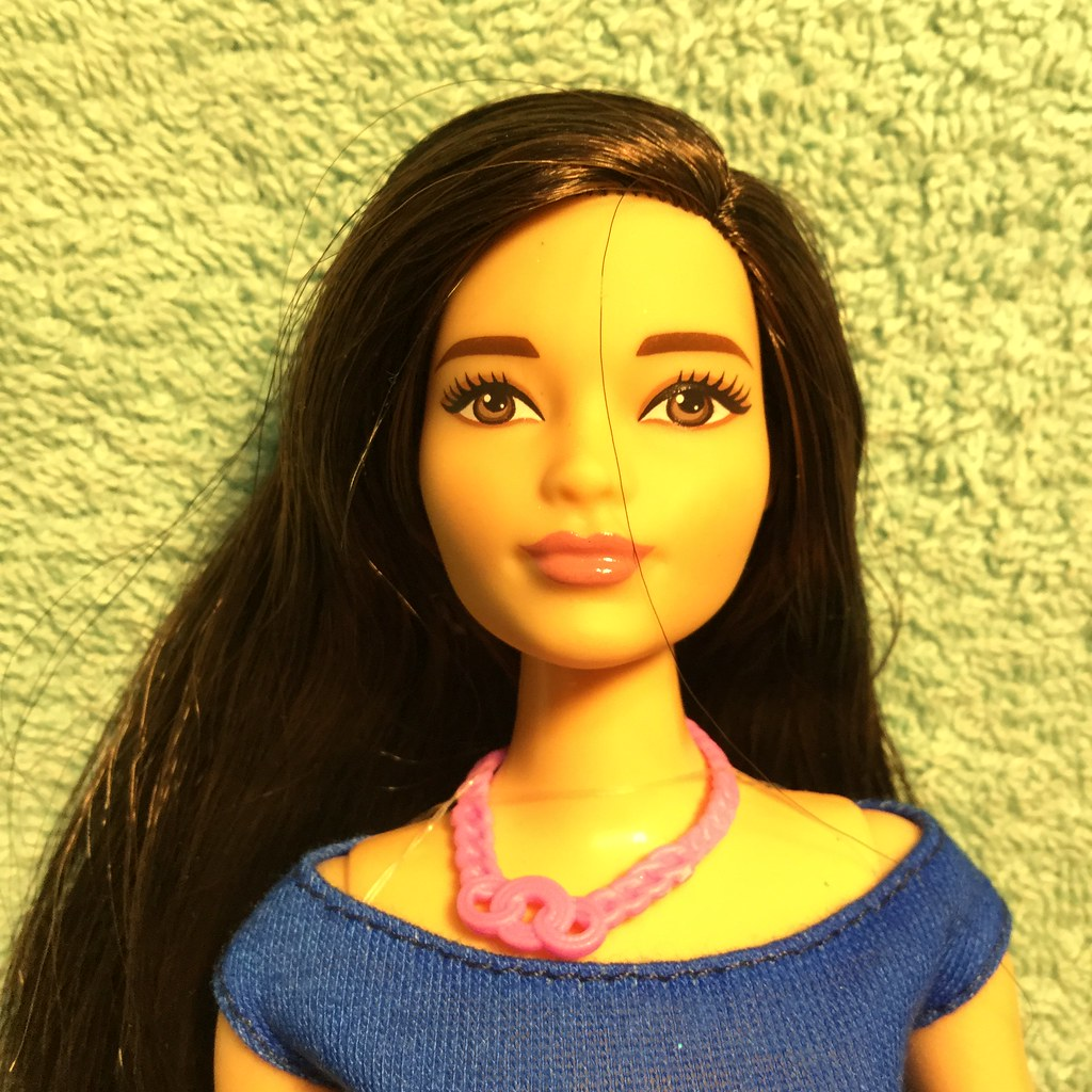 Barbie Big Asian girl