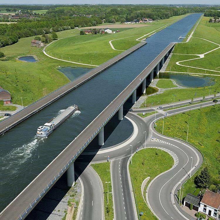 The Sart Canal Bridge, Belgium   Kevin Seawright's ...
