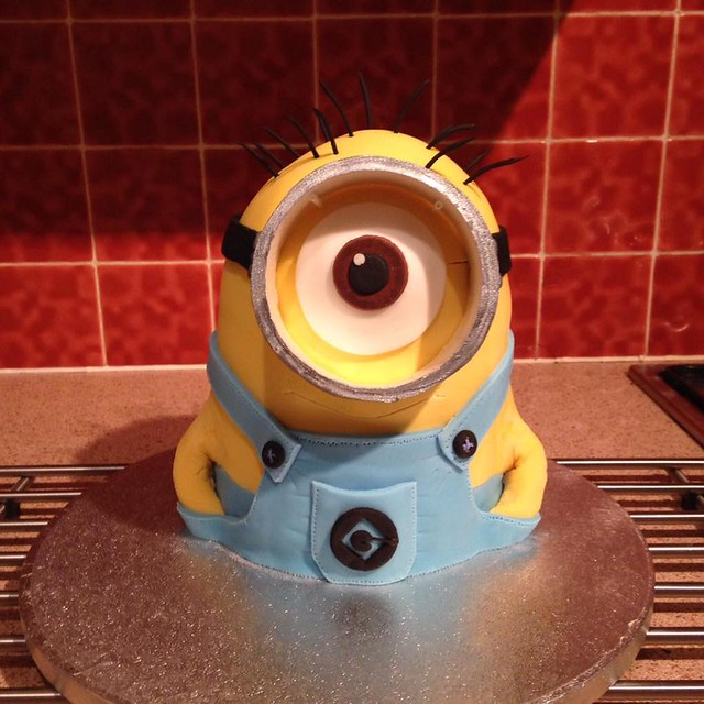 Tasty Minion by Stephanie Teece of The Scrumptious Cakes and Bakes Company