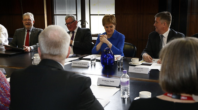 Scottish Government meeting with the STUC