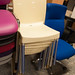Cream ex demo chairs €25