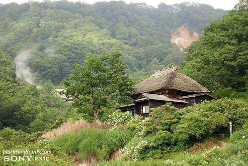 kuroyu onsen scenery