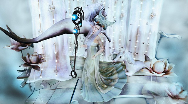 The White Armory - LE Prussian Sea Gown Set Fitmesh Gown
