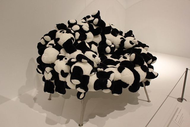Fernando Campana, Chair with Pandas, Dallas Museum of Art
