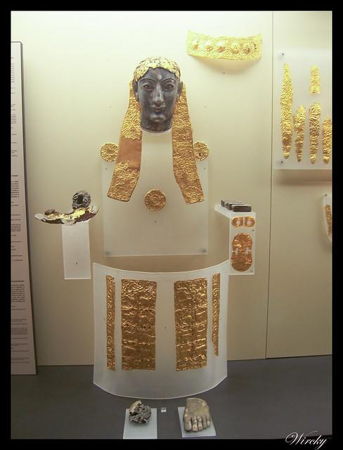 Grecia Olimpia Delfos - Estatua criselefantina de Apolo