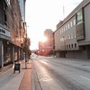 #sunset in downtown Grand Rapids on Fulton Avenue #GR #citylife
