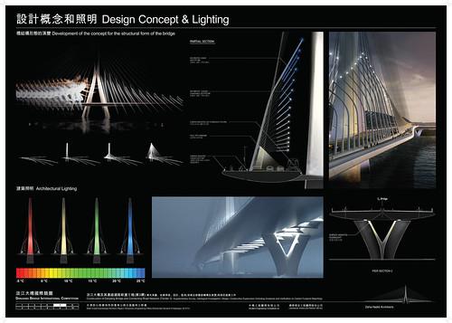 中興工程顧問 - 淡江大橋競圖提案