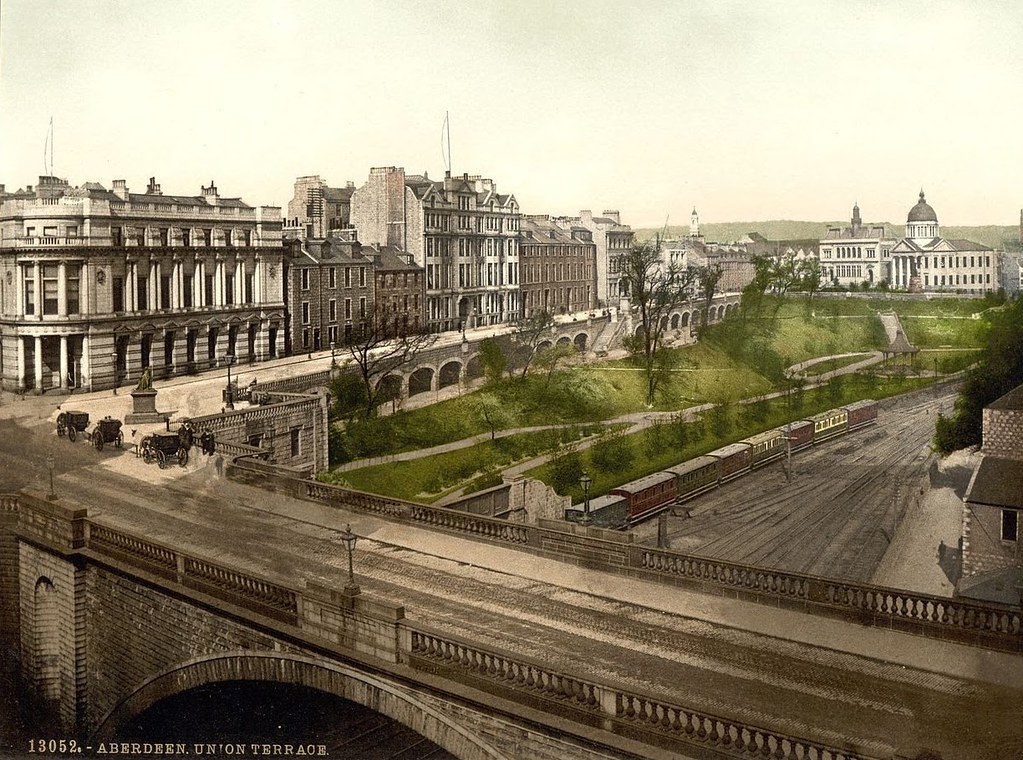 Union Terrace, Aberdeen, Scotland