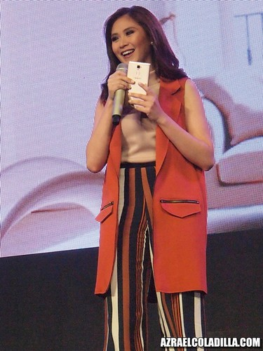 Sarah Geronimo at OPPO R7 launch
