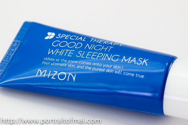 mizon good night white sleeping mask (1 of 1)