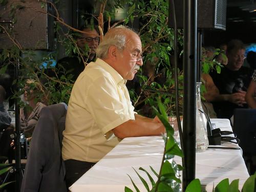Walter Pilar beim Sprachsalzabend