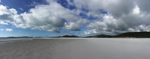 Der berühmte Whitehaven Beach
