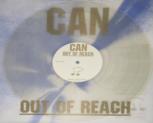 """CAN Out Of Reach Transparent Silver VinYL 12"""" LP"""