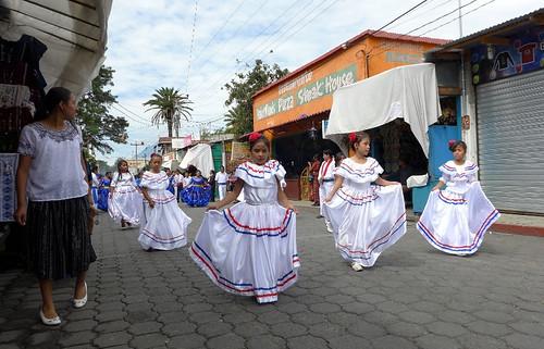 Dia de la Independencia en Panajachel