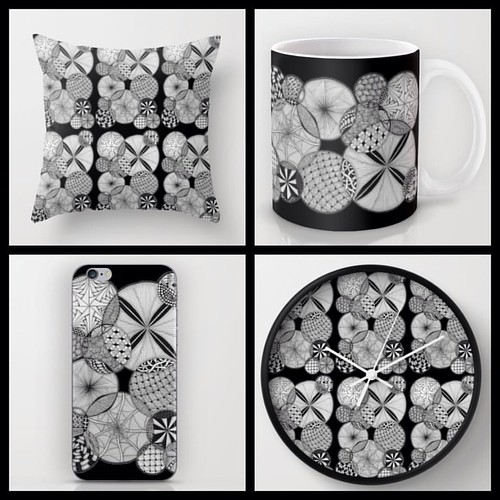 Tangled goodies from Ten Thousand Tangles on Society6