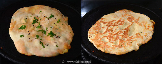 aloo kulcha preparation step 8