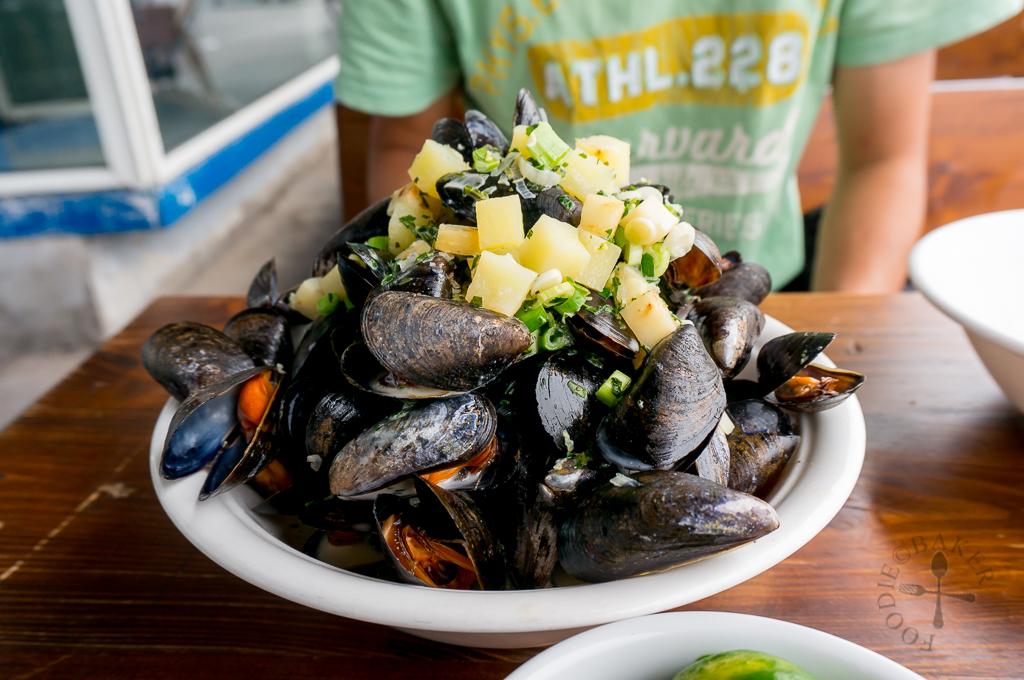 Kødbyens Fiskebar - mussels