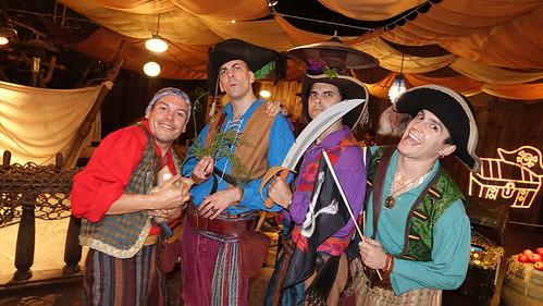 Pirate Palooza at Disneyland Halloween Party